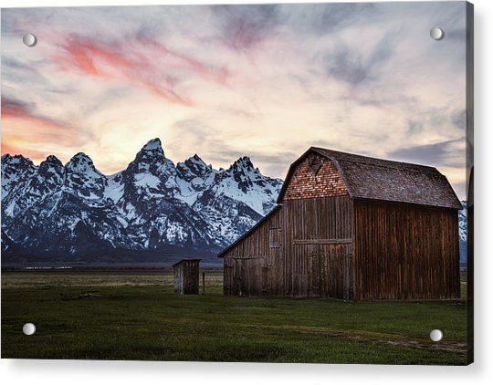 The Other Moulton Barn Acrylic Print