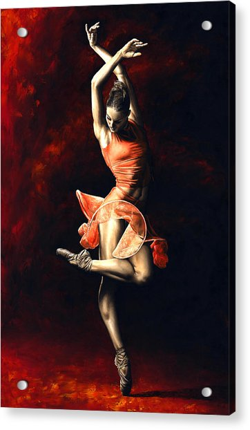 The Passion Of Dance Acrylic Print