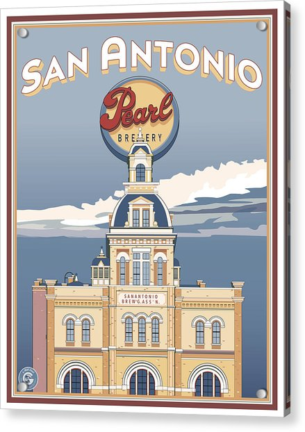 The Pearl Brewhouse Acrylic Print