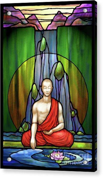 The Praying Monk Acrylic Print
