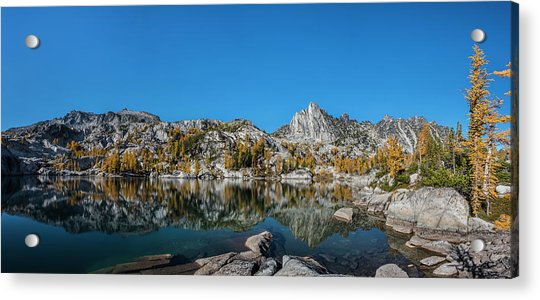 The Quiet Moment In Leprechaun Lake Acrylic Print