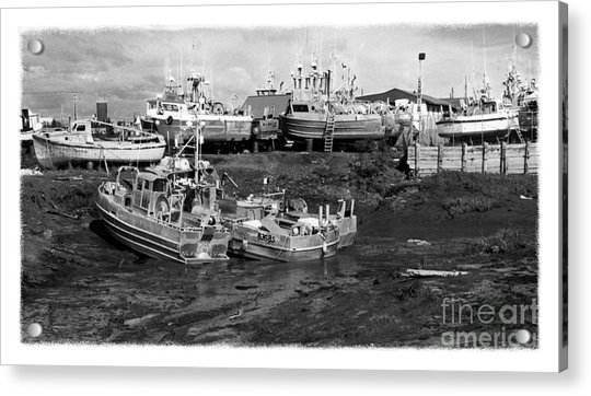 The Real Alaska - Caught At Low Tide Acrylic Print