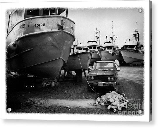The Real Alaska - Dry Dock 1 Acrylic Print