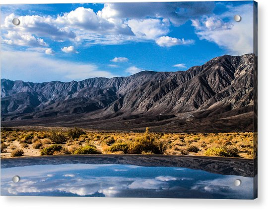 Acrylic Print featuring the photograph The Reflection On The Roof by Break The Silhouette