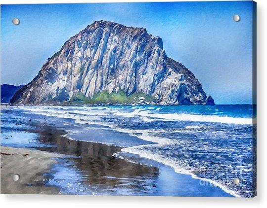 Morro Rock Canvas Print,photographic Print,art Print,framed Print,greeting Card,iphone Case, Acrylic Print