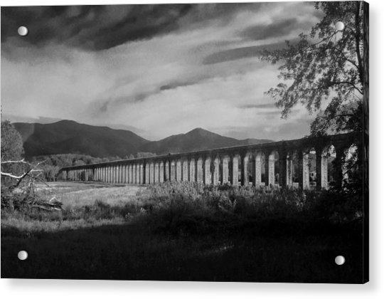 The Roman Aqueducts Acrylic Print
