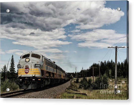 The Royal Canadian Pacific  Acrylic Print