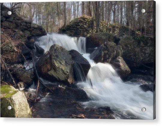 The Secret Waterfall 1 Acrylic Print