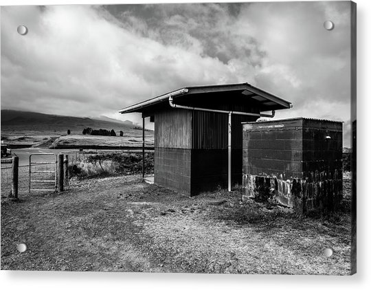 Acrylic Print featuring the photograph The Shack by Break The Silhouette