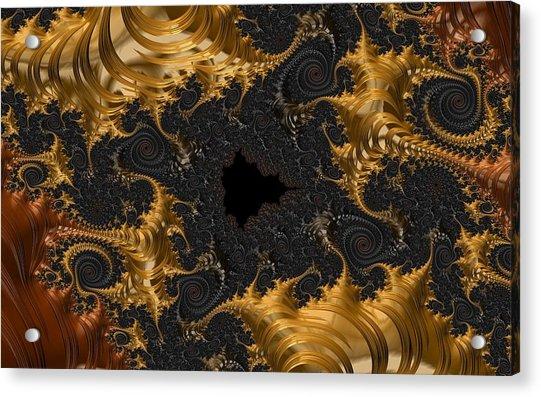The Spiral Coast Acrylic Print