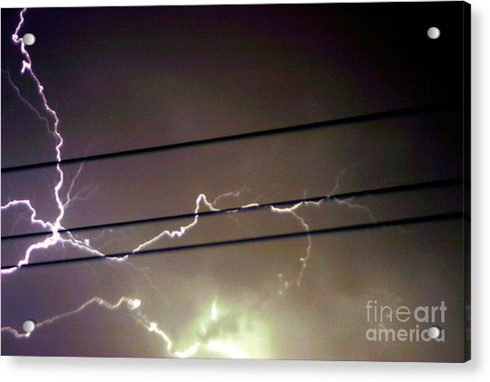 The Storm 1.4 Acrylic Print