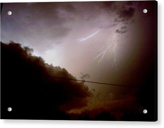 The Storm 2.5 Acrylic Print