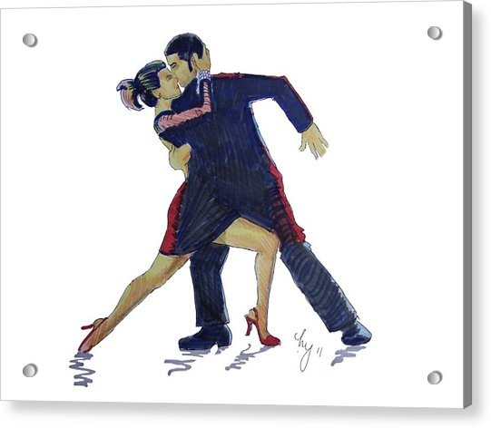 The Tango Acrylic Print
