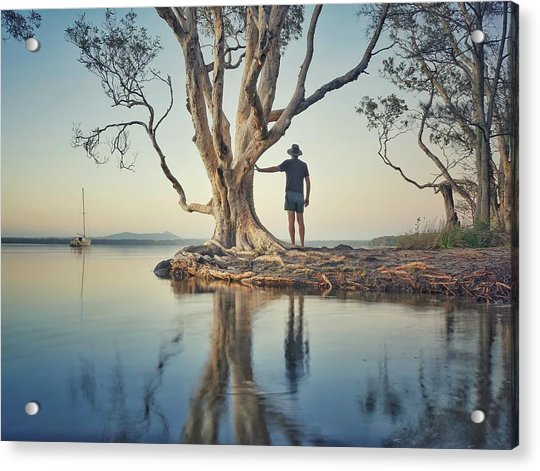 The Tree And Me Acrylic Print