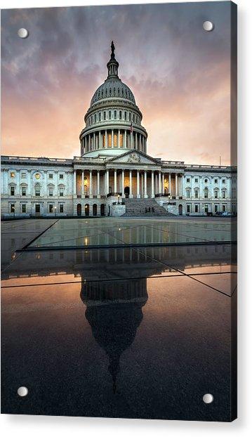 The Us Capital Acrylic Print
