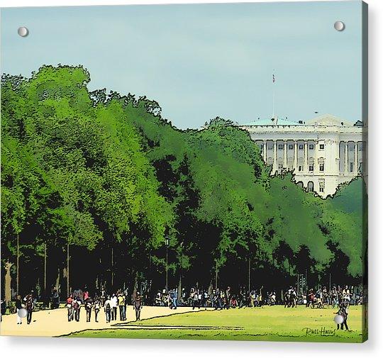 The Washington Dc Mall Acrylic Print
