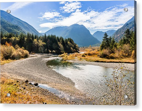 Thelwood Creek Fall Acrylic Print
