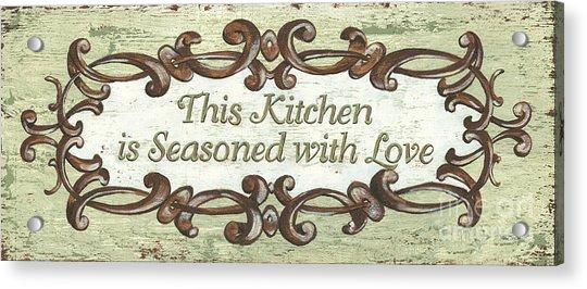 This Kitchen Acrylic Print