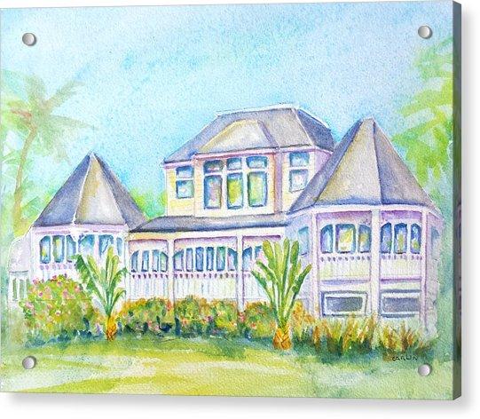 Thistle Lodge Casa Ybel Resort  Acrylic Print