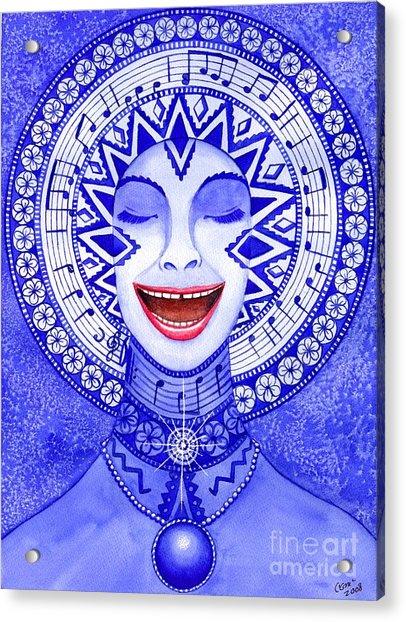 Throat Chakra Acrylic Print