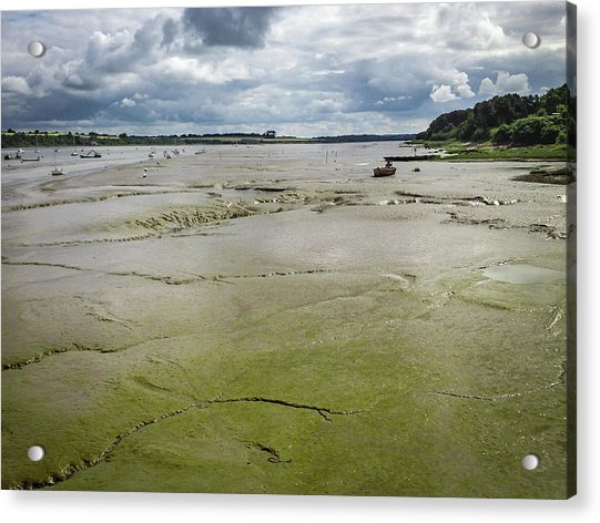 Tide Is Out  Acrylic Print