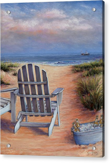 Time To Chill Acrylic Print