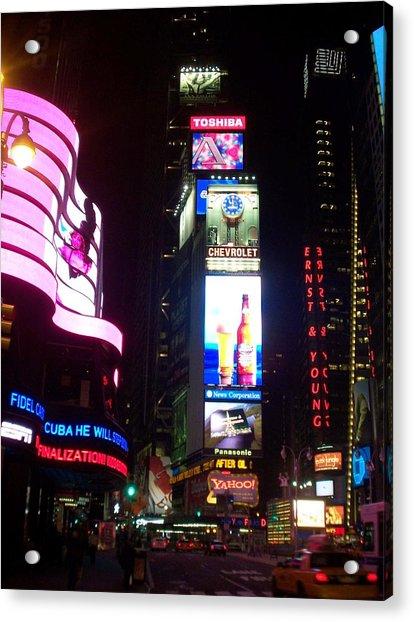 Times Square 1 Acrylic Print