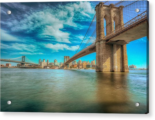 To Brooklyn And Back Acrylic Print