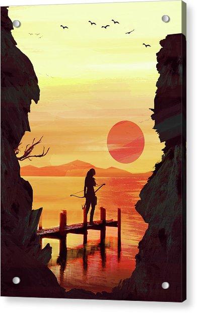Tomb Raider Acrylic Print