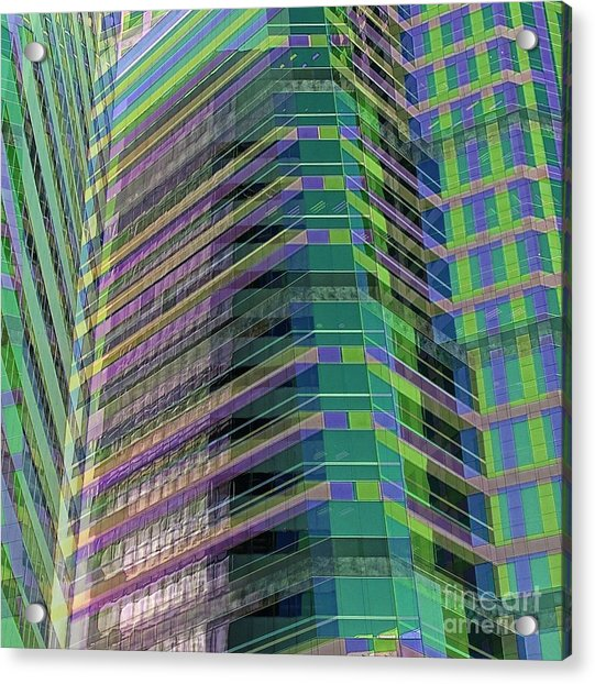 Abstract Angles Acrylic Print