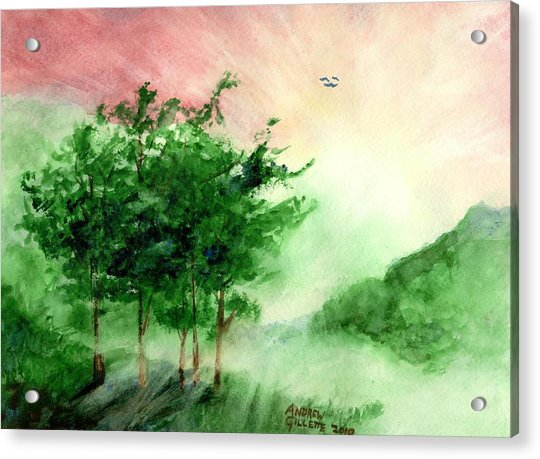 Toward The Promised Land Acrylic Print