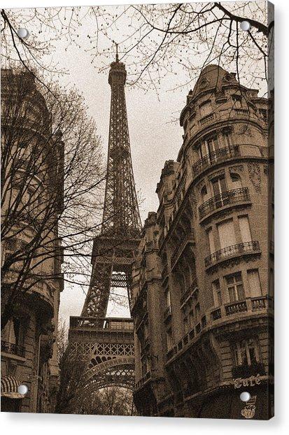Towering Eiffel Acrylic Print