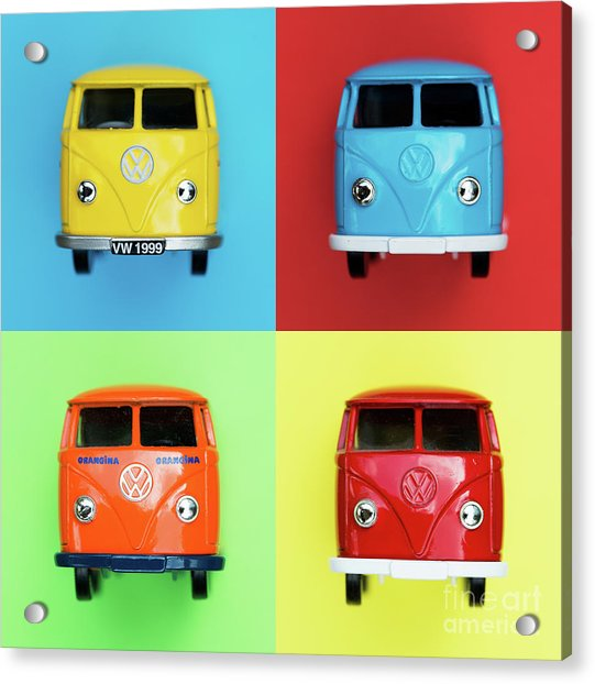 Toy Campers Acrylic Print