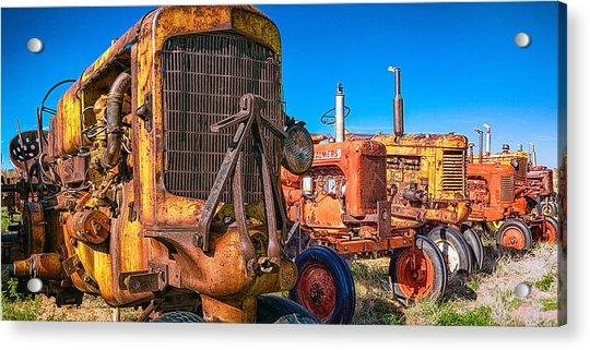 Tractor Supply Acrylic Print