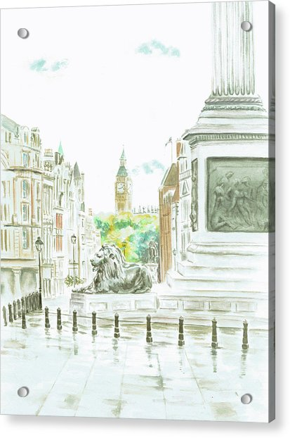 Trafalgar Square Acrylic Print