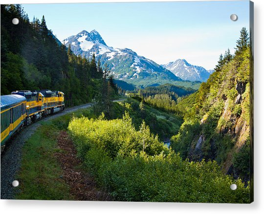 Train From The North Acrylic Print