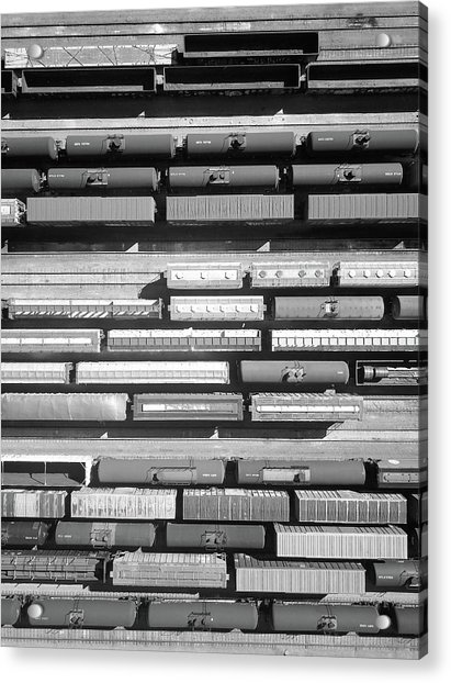 Trainyard Acrylic Print