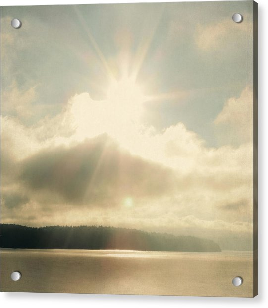 Acrylic Print featuring the photograph Transcend by Sally Banfill