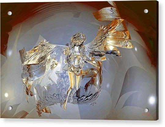 Transparent Angel Acrylic Print