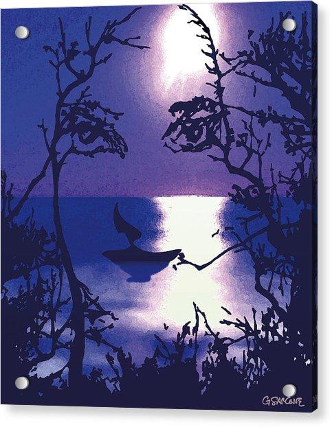 Twilight Face Acrylic Print