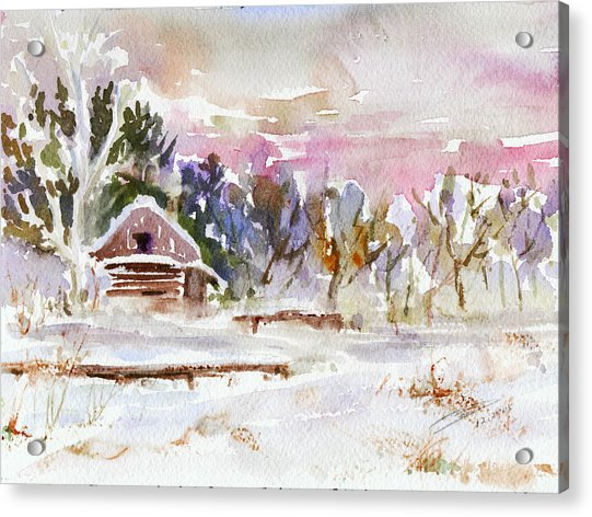 Twilight Serenade I Acrylic Print