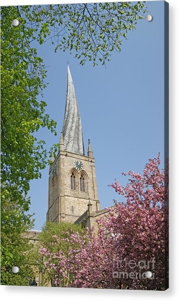Chesterfield's Twisted Spire Acrylic Print