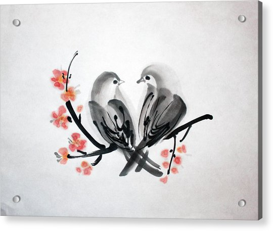 Two Birds Acrylic Print