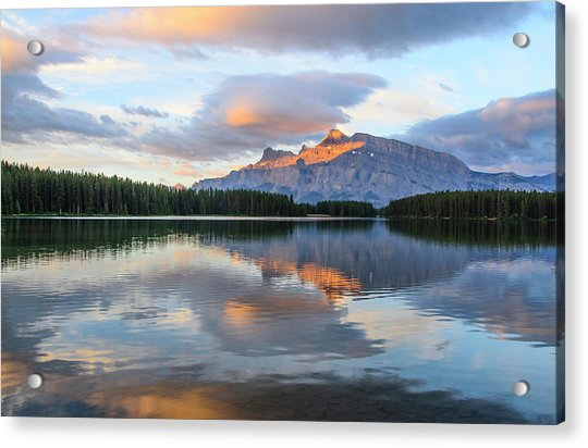 Two Jack Lake, Banff National Park Acrylic Print