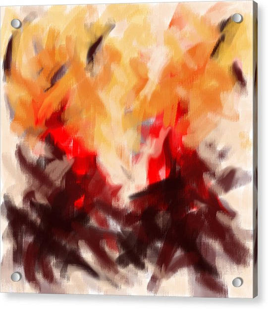 Two To Tango Abstract Acrylic Print
