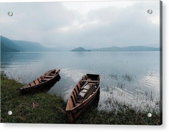 Umiam Lake, Shillong, India Acrylic Print