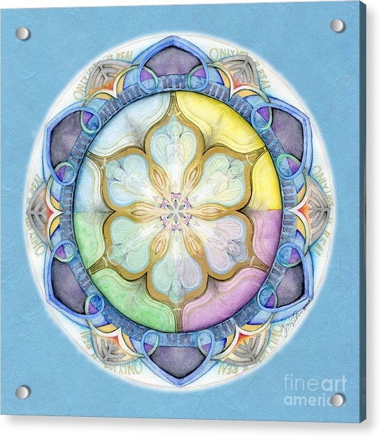 Unconditional Mandala Acrylic Print