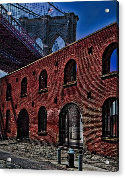 Acrylic Print featuring the photograph Under The Bridge by Chris Lord