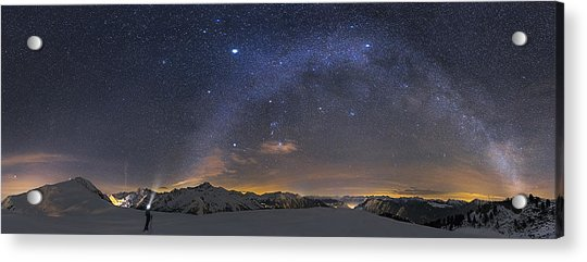 Under The Starbow Acrylic Print