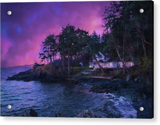 Undreamed Shores - Chesapeake Art Acrylic Print